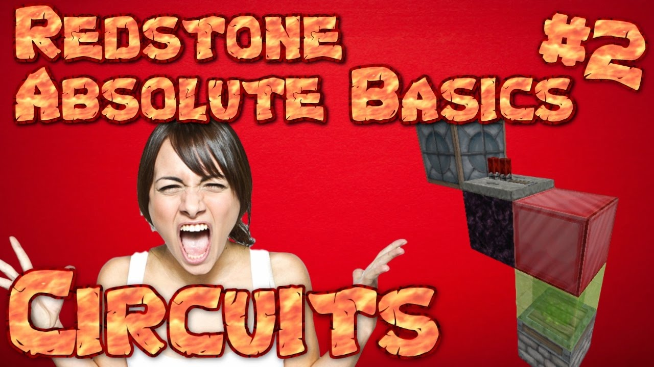 Minecraft Redstone The Basics How To Make Basic Circuits Very 101 Part 2