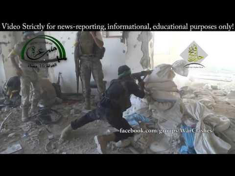Syria War   Intense Insane Urban Clashes  Aleppo