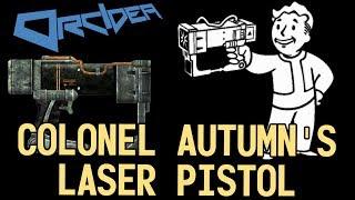 Fallout 3 Unique Weapons - Colonel Autumn's Laser Pistol thumbnail
