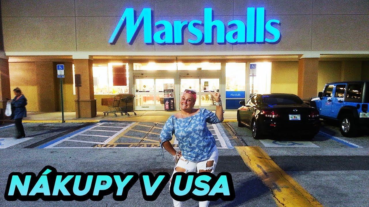 fa73c37a97a Levné nákupy v Americe! - Ceny oblečení v Marshalls - YouTube