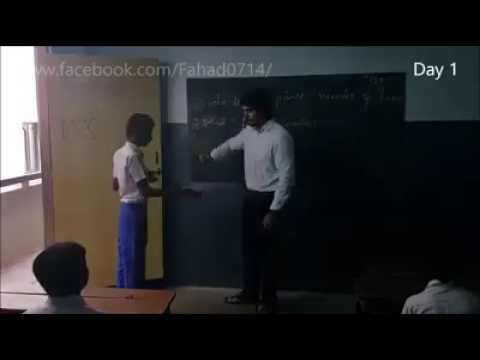 Pooru student in class