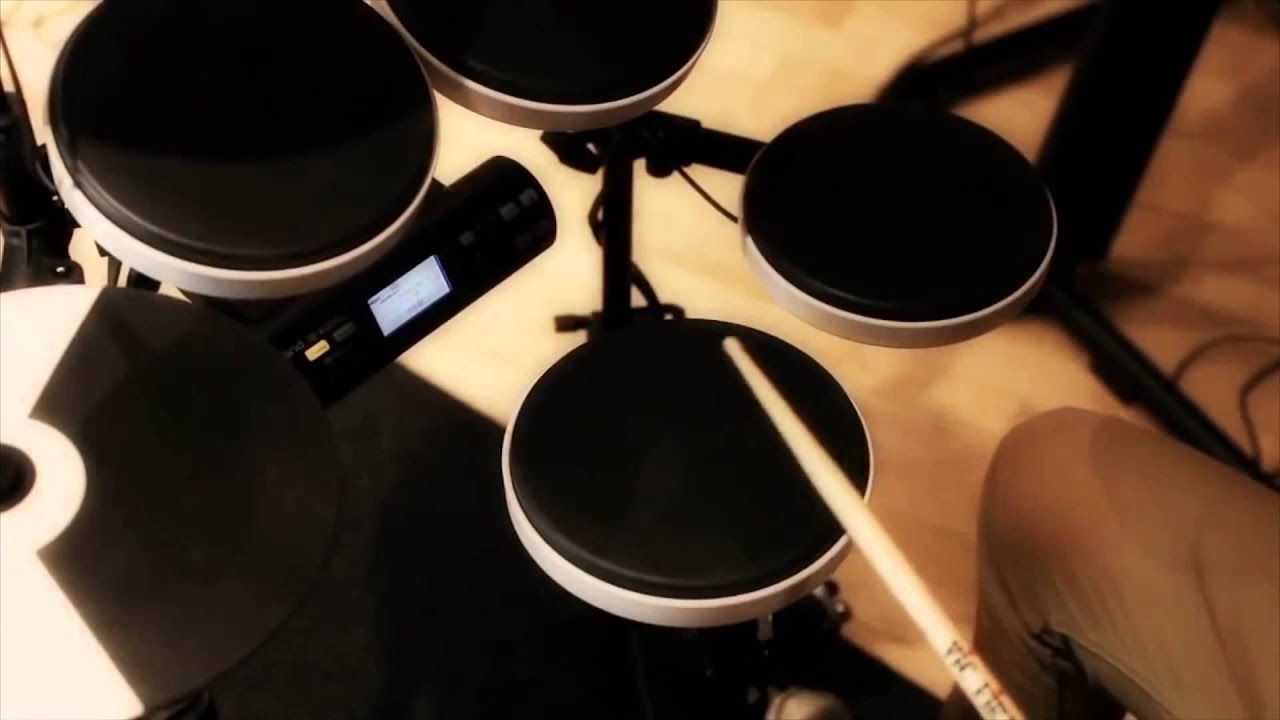 Roland TD-4KP Electric Drum Set Review - YandasMusic.com - YouTube