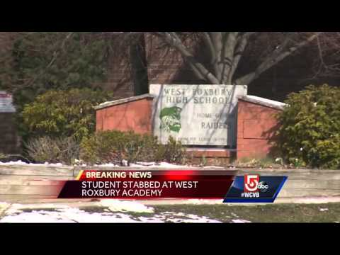 Student stabbed in West Roxbury