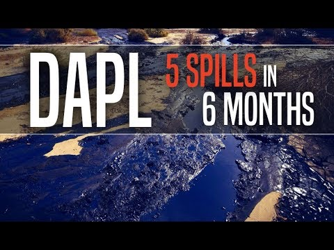 Dakota Access Pipeline Already Had Five Oil Spills in Its First Six Months