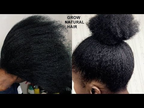 SECRETS REVEALED! YOUR HAIR WILL GROW LIKE CRAZY- GROW HAIR Long, Thick & Healthy FAST!