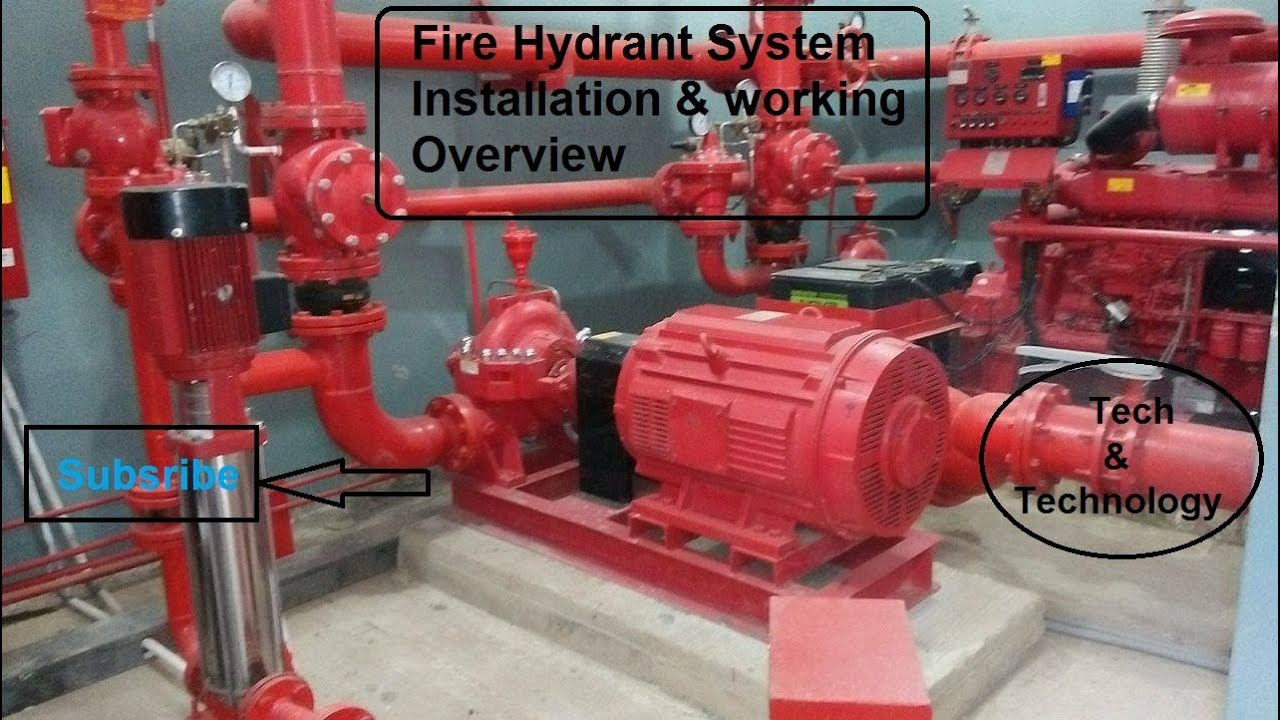 Fire Hydrant System Installation & working overview