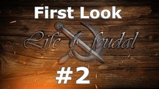 Life is Feudal First Look EP2 - Getting Apples, Wild Plants and Farming