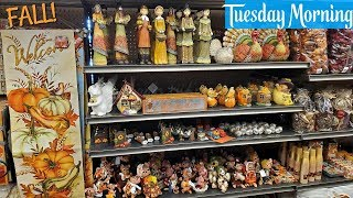 FALL / HARVEST DECOR * TUESDAY MORNING * SHOP WITH ME HOME DECOR 2019