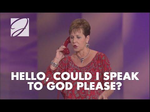 Hello, Could I Speak To God Please? | Joyce Meyer