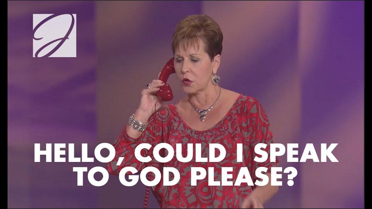 Download Hello, Could I Speak To God Please? | Joyce Meyer