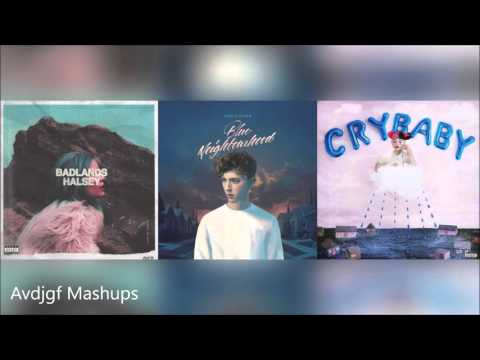 Halsey Vs. Melanie Martinez Vs. Troye Sivan - Sippy Blue Castle (Mashup)