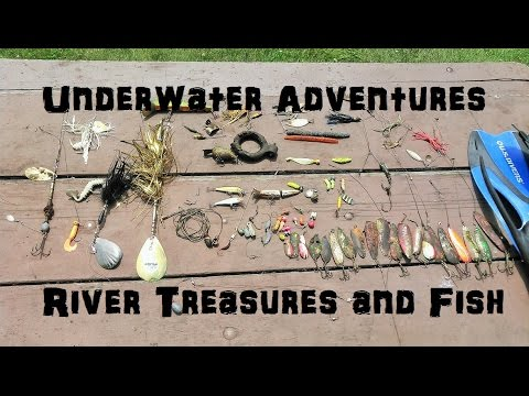 Underwater Adventures   River Treasure and Fish