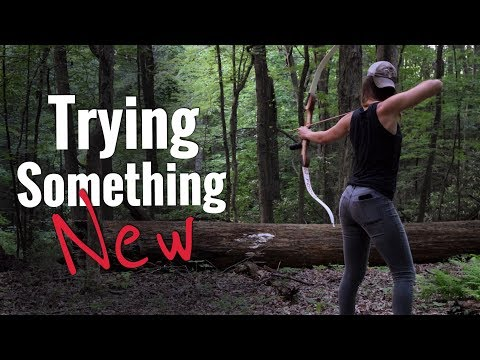 A New Kind of Archery Practice | Recurve Bow | Traditional Archery