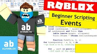 How To Script On Roblox For Beginners - Events - Episode 10