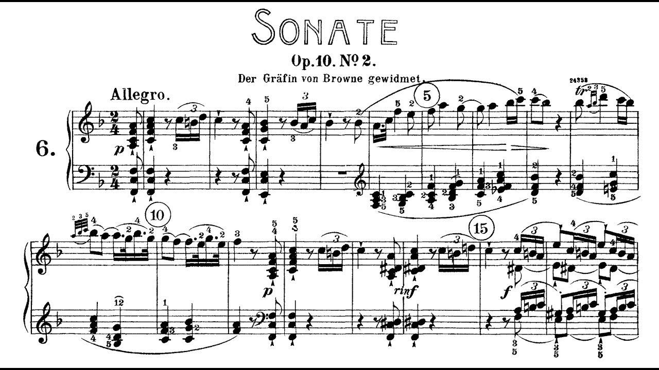 Sonata in F Major, Op. 36, No. 2
