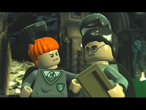 Lego Harry Potter Years 1 4 100 Guide 9 Crabbe And Goyle House Crests Character Tokens Youtube