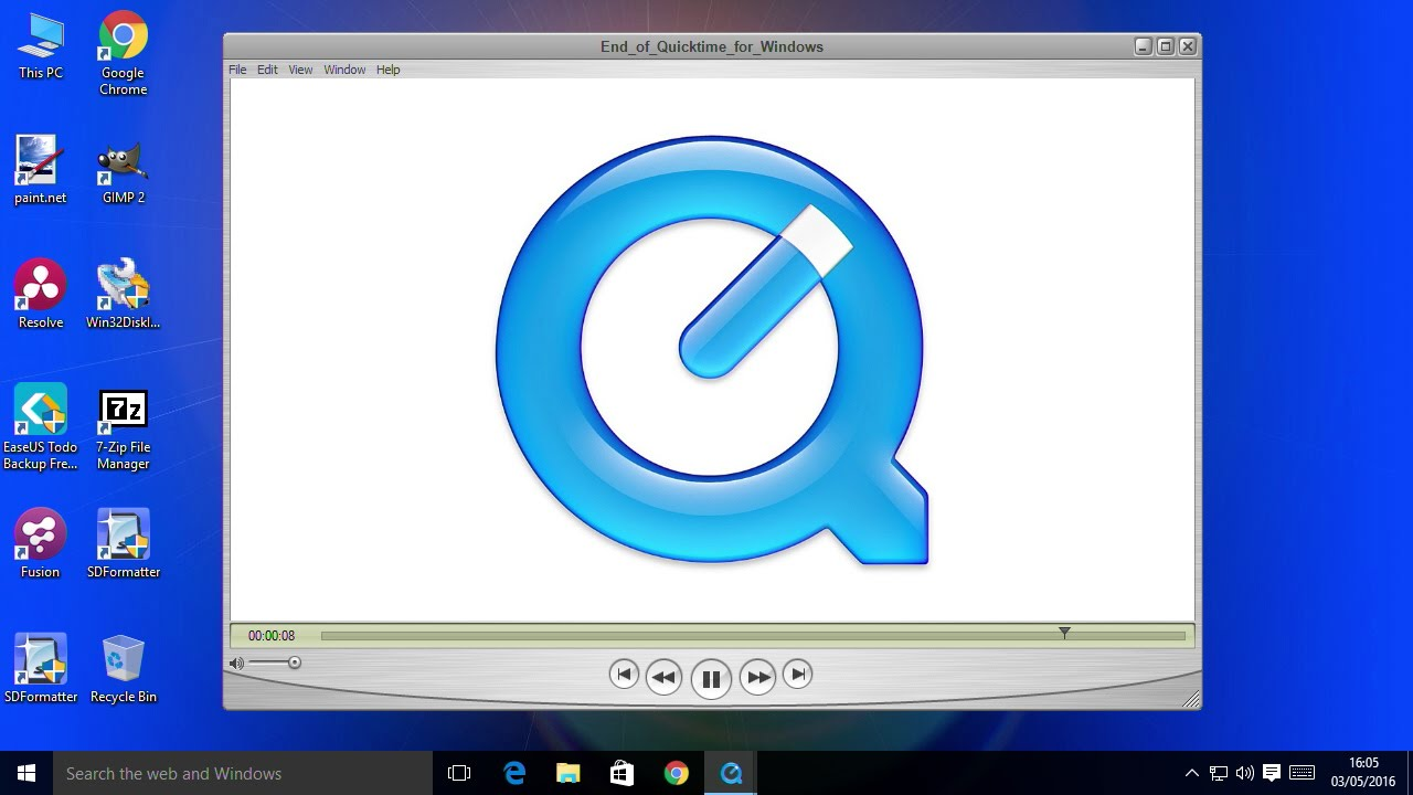 quicktime player free download for windows xp 32 bit