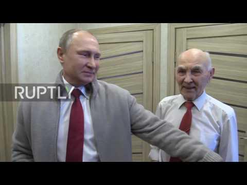 Russia: Putin congratulates former KGB commander Matveev on his 90th birthday