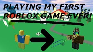 My First EVER Game On ROBLOX (and more!) - Linkmon99 ROBLOX