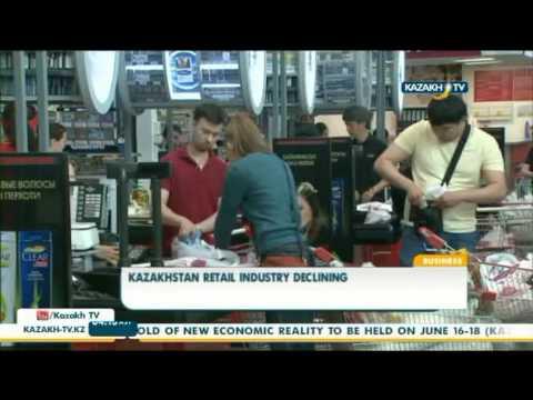 Kazakhstan retail industry declining - Kazakh TV