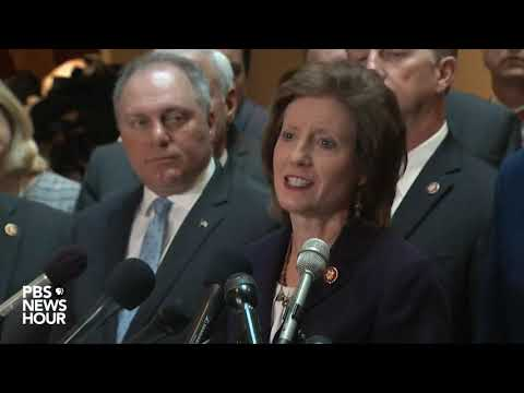 WATCH: Republicans disrupt closed-door impeachment deposition