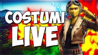 COSTUMI! WINNER WINS ALL V-Buckse-Fortnite Live Strim