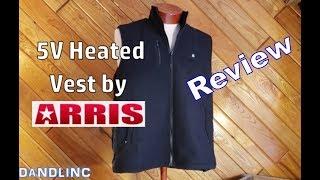 The 5V Heated Fleece Vest Jacket