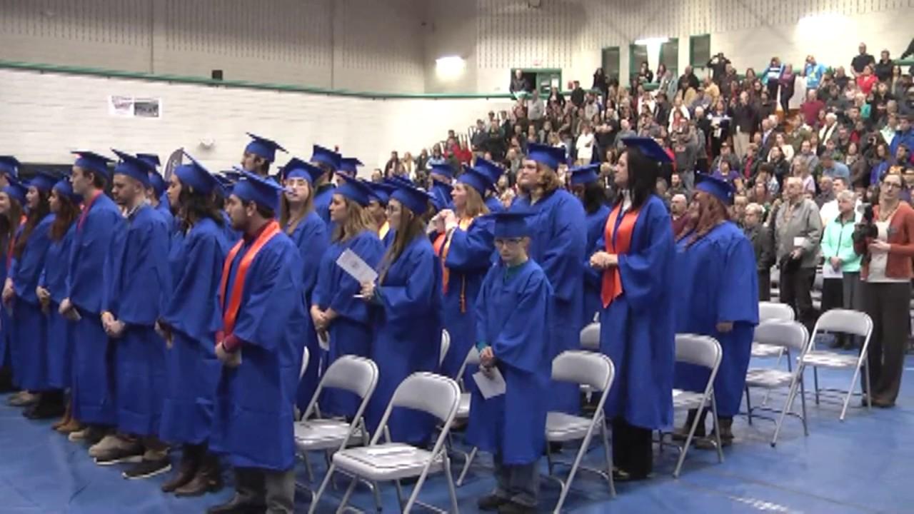 Clinton CC Graduation  12-16-16