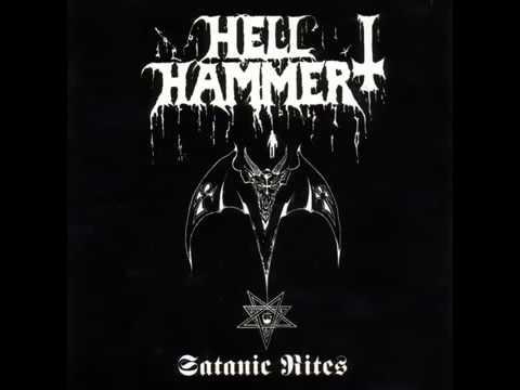 HELLHAMMER  - Satanic Rites (FULL ALBUM) 1983