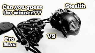 Abu Garcia Pro Max vs KastKing Stealth (Reel Comparison/Review)