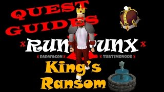 OldSchool Runescape: King's Ransom Quest Guide