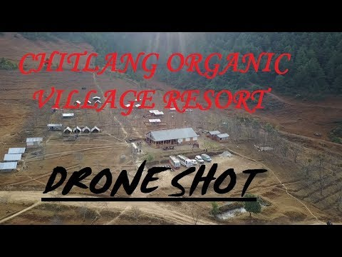 Chitlang Organic Village Resort | Drone Video | AERIAL SD