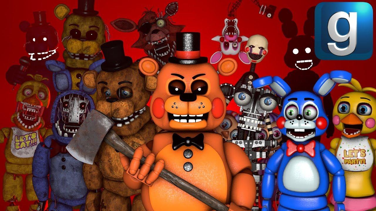 Gmod FNAF | Toy Freddy Loses His Internet