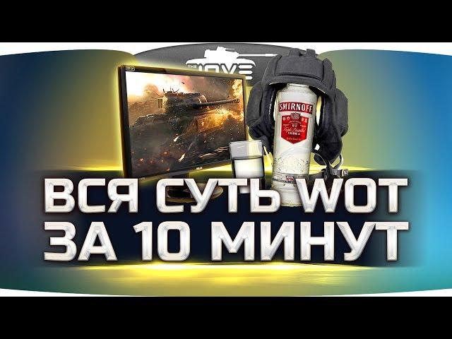Вся Суть World Of Tanks За 10 Минут