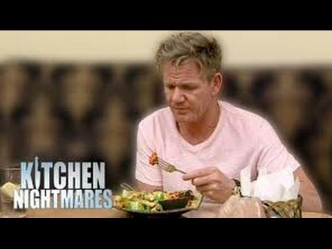 When Gordon Ramsay LIKES the food ( Kitchen Nightmares )