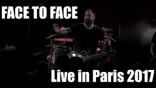 FACE TO FACE live in Paris 2017 (Punk Rock, France, Skate Punk) FULL CONCERT