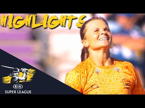 Suzie Bates In Top Form For Hosts   Vipers v Diamonds   Kia Super League 2018 - Highlights