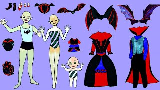 Paper Dolls Family Dress Up - …