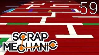 Scrap Mechanic [#59] Mapa Escape Co-Op by Nitraz (Mapa Widza)