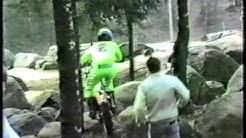Saku jakomäen kallioilla 1987