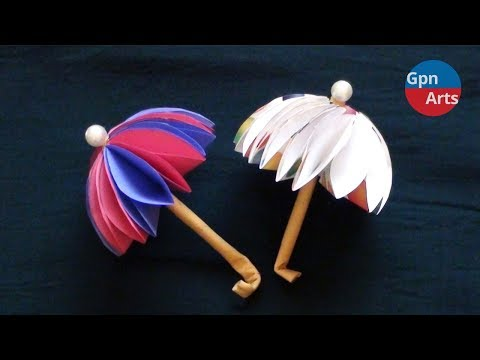 DIY Paper Umbrella | Simple Craft for Everyone