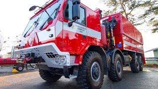POŽÁRY.cz: Valníková Tatra 815-7 8x8 je všestranným pomocníkem