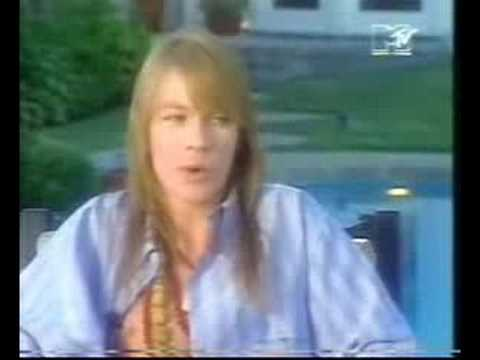 Axl Rose – interview (part 1/3)