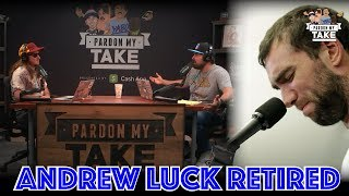 Pardon My Take Reacts to Andrew Luck's Retirement