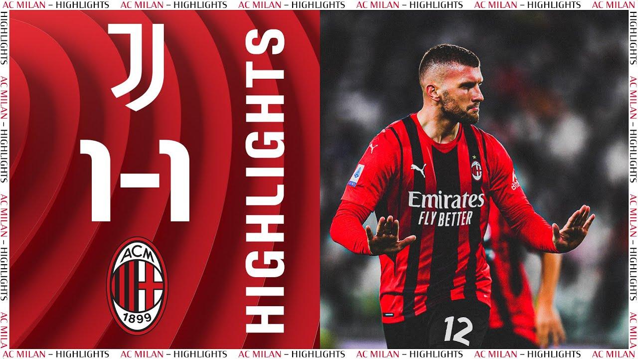Download Rebić goal   Juventus 1-1 AC Milan   Highlights Serie A 2021/22