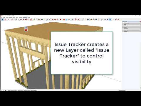 Issue Tracker Extension for SketchUp