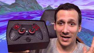 SCUF IMPACT PS4 - FORTNITE Battle Royale - UNBOXING + REVIEW