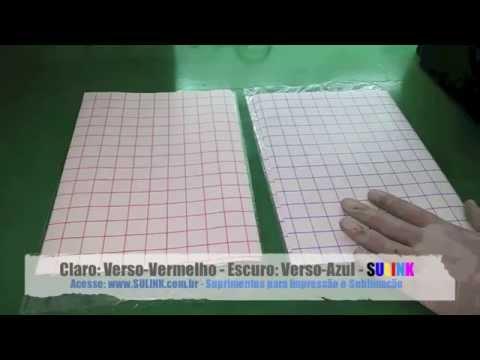 Tutorial - Como fazer Impressão no Papel Transfer para Algodão Claro e Escuro - SULINK