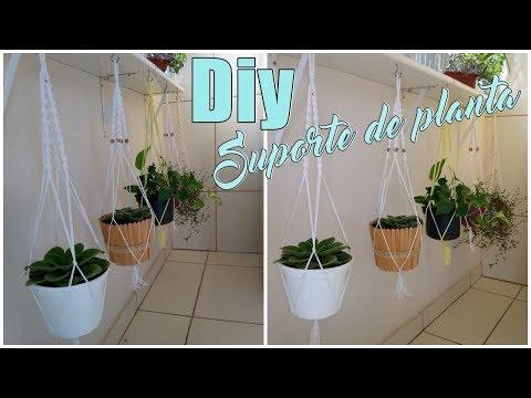FAÇA VOCÊ MESMO |  Suporte Para Plantas Em Macramê (Lidy Artesanato)
