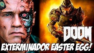 DOOM - Exterminador Easter Egg! [Terminator Easter Egg] #reviewsdegames